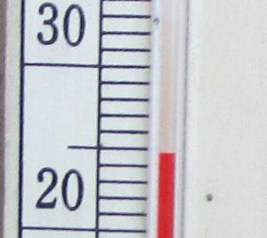 玄関先の気温