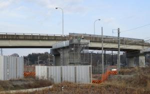橋桁設置の準備