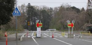 開通前の道路②