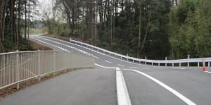 開通前の道路③
