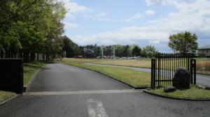 ゴルフ場の正面入口