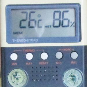居間の気温・湿度